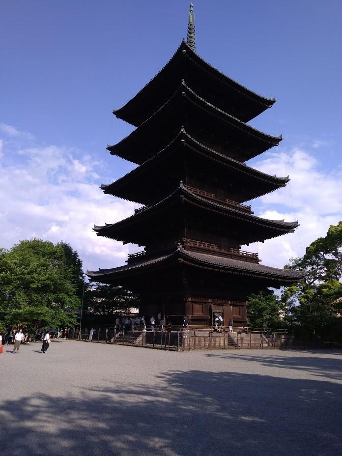 東寺の写真です。