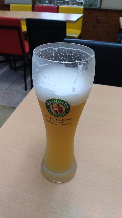 ドイツビールです。