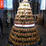 イノシシのクリスマスツリー